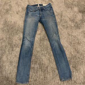 Denim - Rag & Bone light wash skinny jeans